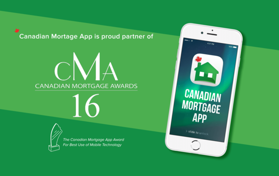 Canadian Mortgage Awards sponsor banner